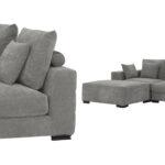 Диван Eichholtz Sofa Clifford 2-Seater grey  - фото 3