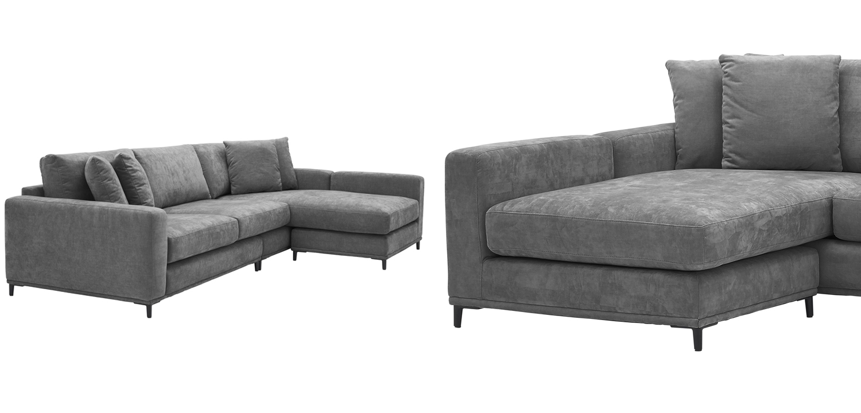 Диван Eichholtz Sofa Feraud Lounge grey  - фото 3