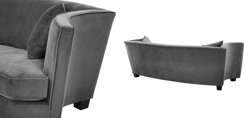 Диван Eichholtz Sofa Jiulietta Grey 3  - фото 3