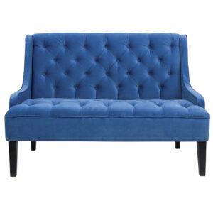 Диван Folket Sofa velour blue