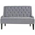 Диван Folket Sofa velour gray  - фото 1