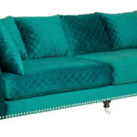 Диван Giorgio Sofa Turquoise  - фото 3