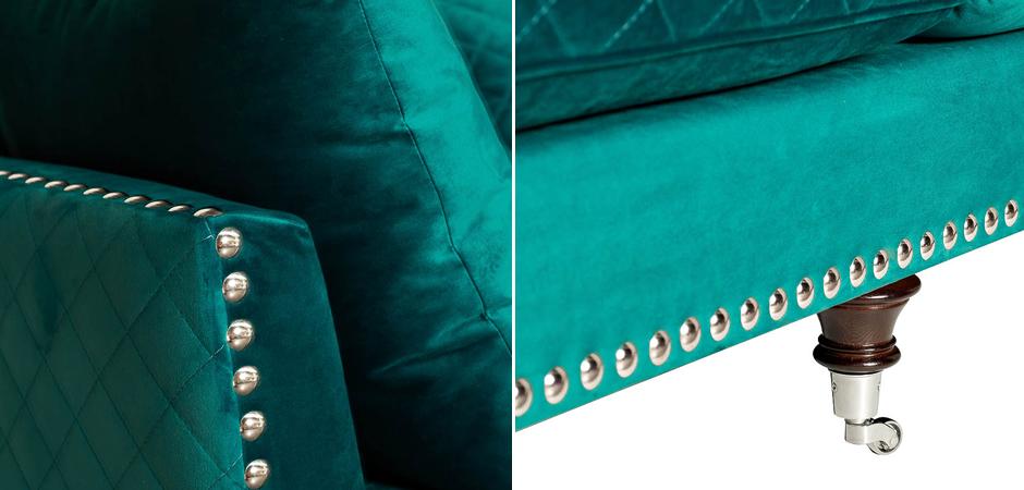 Диван Giorgio Sofa Turquoise  - фото 2