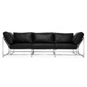 Диван Black Calfskin Sofa  designed by Stephen Kenn and Simon Miller