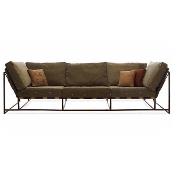 Диван Inheritance Sofa Olive Military Fabric  designed by Stephen Kenn and Simon Miller  - фото 1