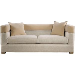 Диван Modena Sofa Linen and Velvet Sofa