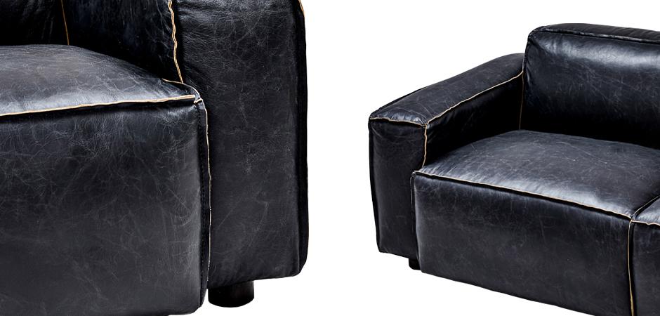 Диван Osorio Leather Sofa  - фото 3