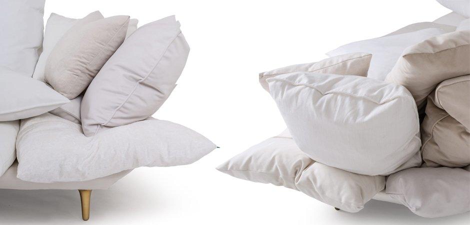Диван Seletti Sofa Comfy White  - фото 2