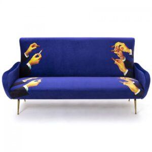 Диван Seletti Sofa Three Seater Lipsticks