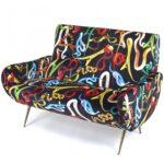 Диван Seletti Sofa Two Seater Snakes  - фото 1
