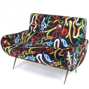 Диван Seletti Sofa Two Seater Snakes