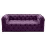Диван Soho tufted purple velor  - фото 1
