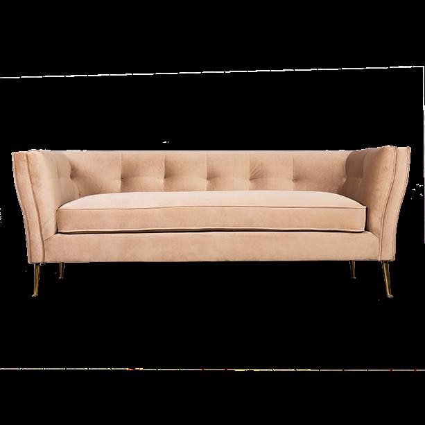 Диван трехместный Flatter beige  - фото 1