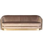 Диван трехместный велюр Bolger sofa three-seater velvet  - фото 1