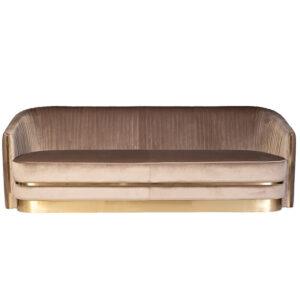 Диван трехместный велюр Bolger sofa three-seater velvet