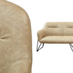 Диван Triangular Legs Triple Sofa  - фото 2