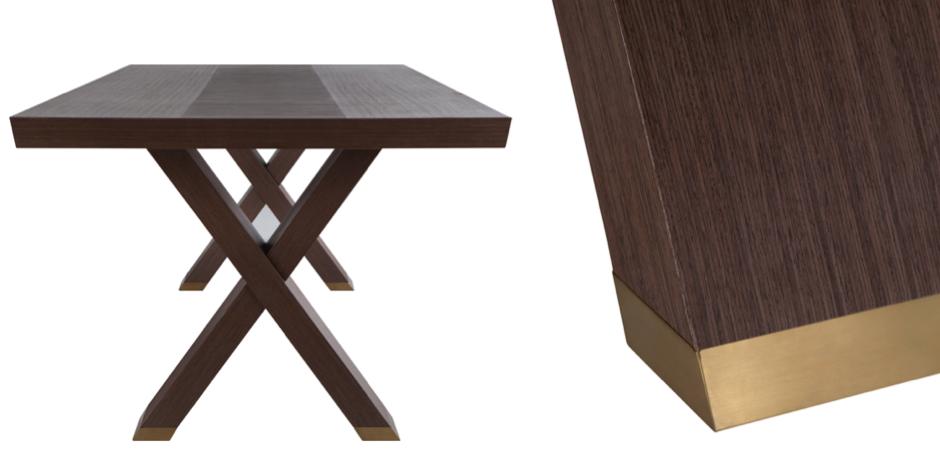 Стол обеденный Double X Dinning Table   - фото 2