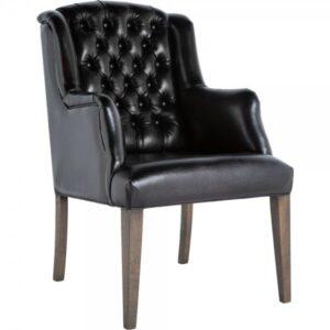 Кресло Leather Elegance Black
