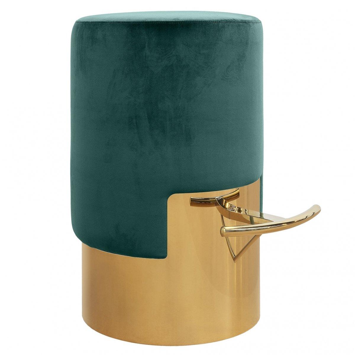 ELLA BAR STOOL Зеленый Барный стул  - фото 1
