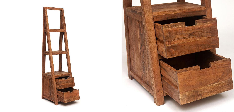 Этажерка Acacia Bookcase Freya II  - фото 2