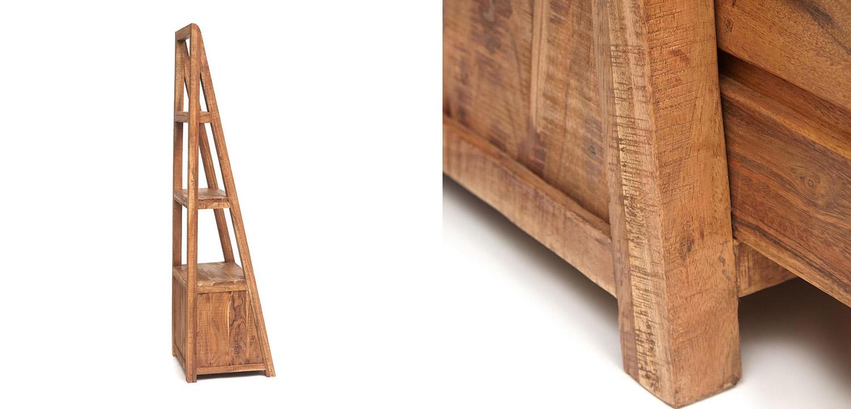 Этажерка Acacia Bookcase Freya II  - фото 4