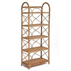 Этажерка Rattan Wicker Bookcase