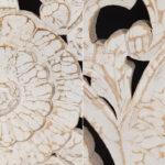 Изголовье-панно Indian antique white Headboard  - фото 3