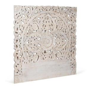 Изголовье-панно Indian antique white Headboard