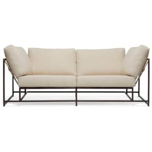 Двухместный диван Canvas & Copper Two Seat Sofa  designed by Stephen Kenn and Simon Miller  in 2014