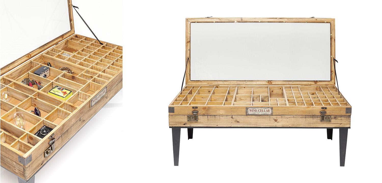 Кофейный стол Wooden Wine Cellar  - фото 2