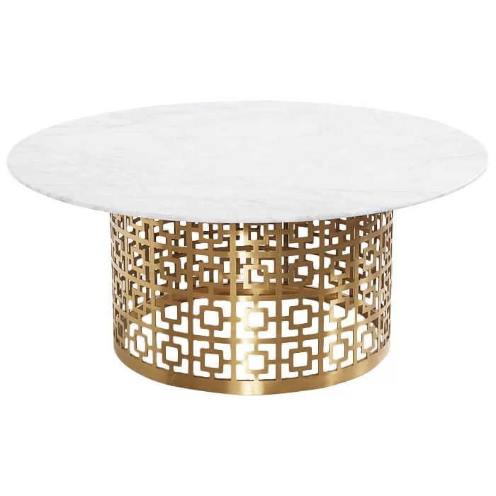 Кофейный стол Artesia Coffee Table White  - фото 1