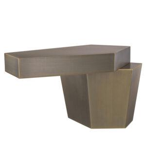 Кофейный стол Eichholtz Coffee Table Calabasas Low brass