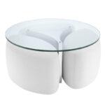 Кофейный стол Eichholtz Coffee Table Modus stainless steel  - фото 1
