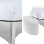 Кофейный стол Eichholtz Coffee Table Modus stainless steel  - фото 2