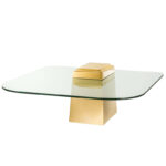 Кофейный стол Eichholtz Coffee Table Orient Gold  - фото 1