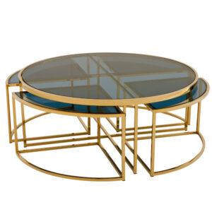 Кофейный стол Eichholtz Coffee Table Padova Gold