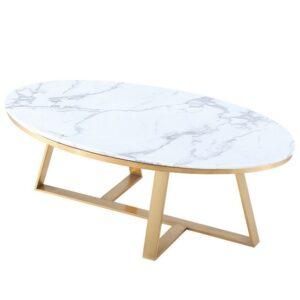 Кофейный стол Marble Oval Table