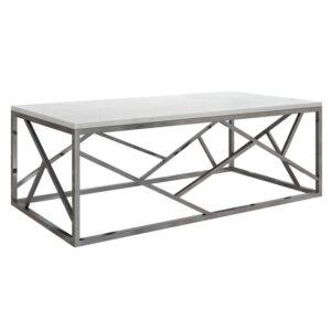 Кофейный стол Serene Furnishing Chrome Marble Top coffee table