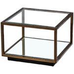 Кофейный стол Transparent Cube 35  - фото 1