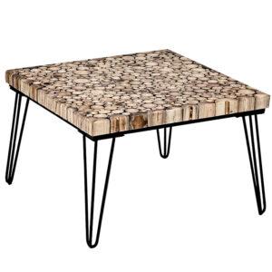 Кофейный стол Tree Cuts square coffee table