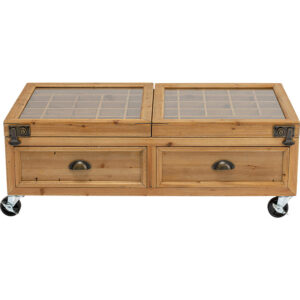 Кофейный стол Wooden Storage Space