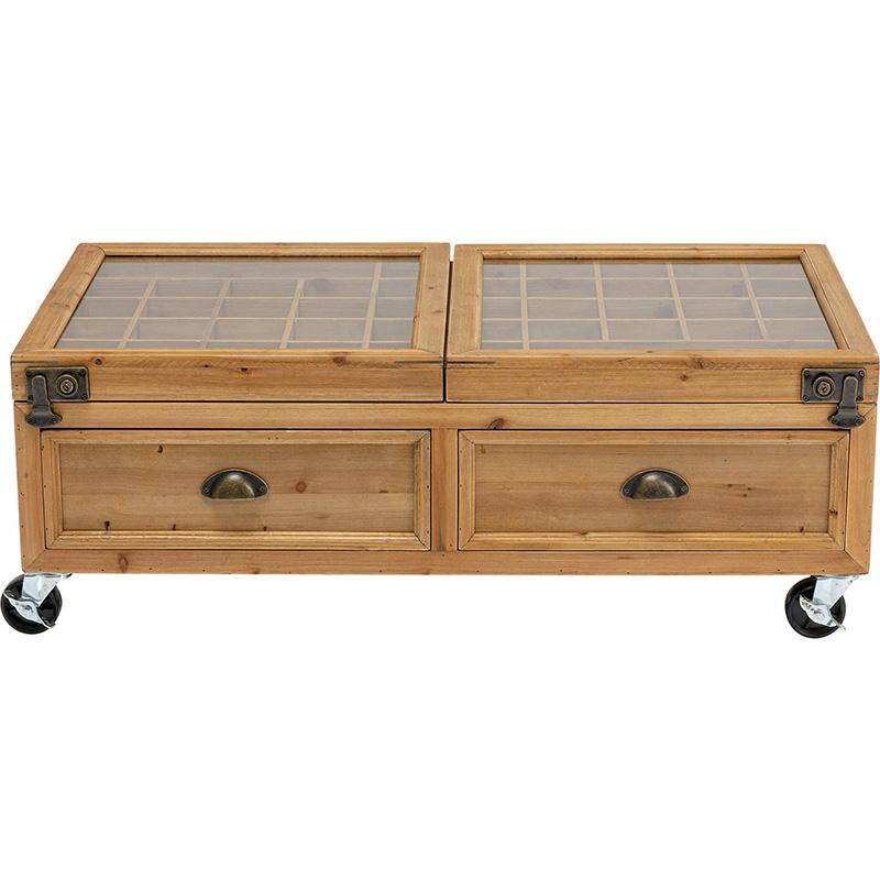 Кофейный стол Wooden Storage Space  - фото 1