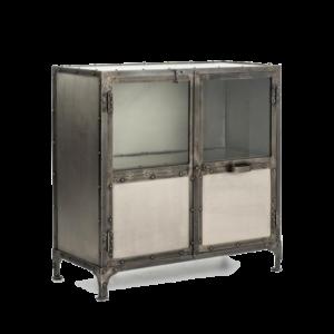 Комод Industrial Steampunk Nickel 2 Door Cabinet