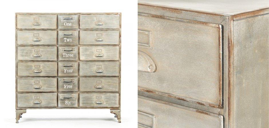 Комод Oscar Drawer Cabinet  - фото 2