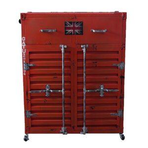 Комод Sea Container с двумя дверками и двумя ящиками