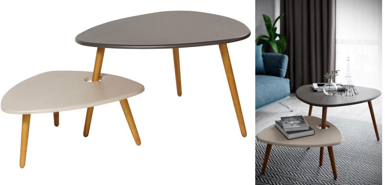 Комплект столиков Michelle duo  - фото 2