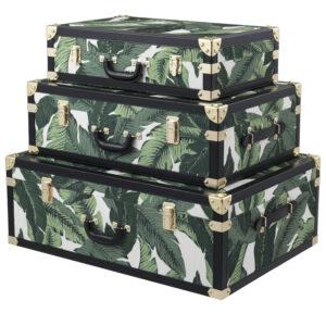 Комплект чемоданов Eichholtz TRUNK BITTERSWEETS SET OF 3