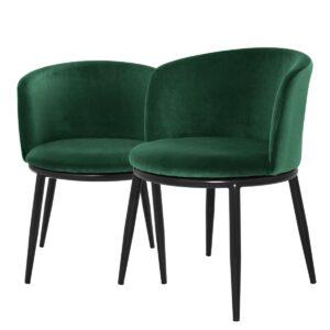 Комплект из двух стульев Eichholtz Dining Chair Filmore Set Of 2 Cameron green