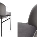 Комплект из двух стульев Eichholtz Dining Chair Willis Set of 2 grey  - фото 3