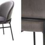 Комплект из двух стульев Eichholtz Dining Chair Willis Set of 2 grey  - фото 2